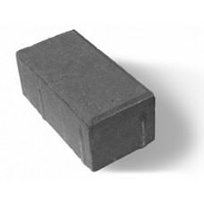 """Тротуарная плитка серая """"Кирпичик"""" 200х100х60 мм, вибропресс"""