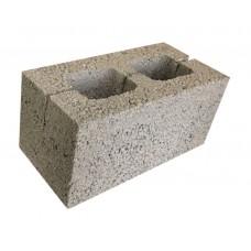 Шлакоблок 2х пустотный 30% пустот 190х188х390 стеновой