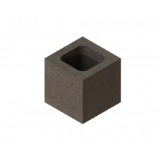 Шлакоблок доборный (половина) 190х188х190 М75(В5) - М100(В7.5)