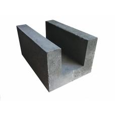 U образный блок 250х400х600 для армопояса