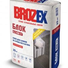 Клей для ячеистых блоков, мешок 25 кг