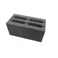 Шлакоблок 4х пустотный 190х188х390 М75(В5) - М100(В7.5)