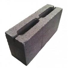 Шлакоблок перегородочный 90х188х390 М75 (В5)