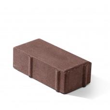 "Тротуарная плитка коричневая ""Кирпичик"" 200х100х60 мм, вибропресс"