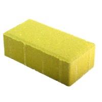 "Тротуарная плитка желтая ""Кирпичик"" 200х100х70 мм, вибропресс"